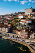 The Red Roofs and Colored Houses of Porto