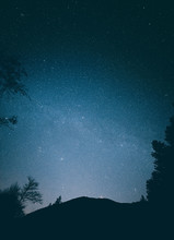 Stunning Night Scapes From The Northern Hemisphere On Bowen Island British Columbia Canada Stars And The Milky Way