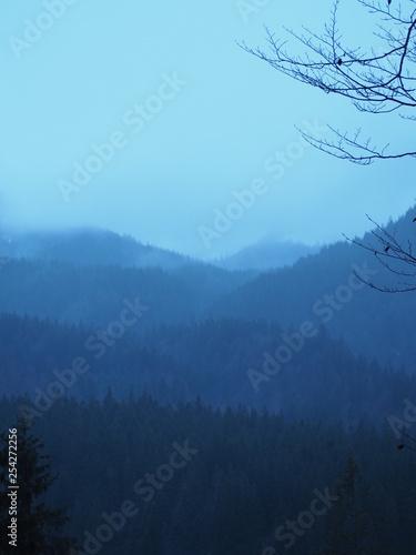 Aluminium Prints Blue phootgraphy