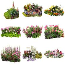 花の寄せ植えガーデニング素材