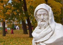 Statue In Park In Tsarskoe Selo
