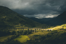 Famous Bridge Of Glenfinnan Ra...