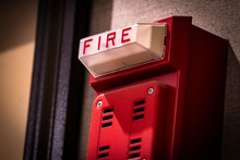 Red Fire Alarm/detector/siren/...