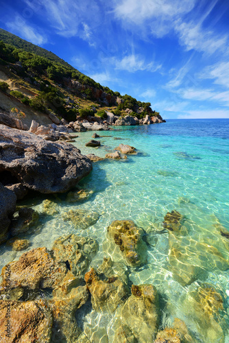 Cadres-photo bureau Nature Landscape of Kefalonia island in Greece