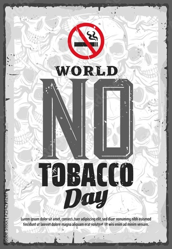 No tobacco day, smoking prohibition or quitting - Buy this