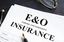 Errors And Omissions Insurance...