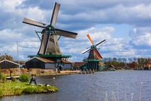 Windmills In Zaanse Schans - Netherlands