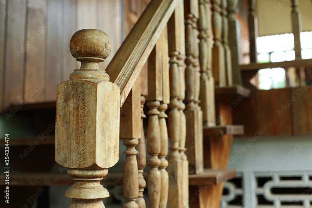 Fotografía Wooden Barade And Banister Carve Design Of