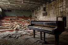 Large Abandoned Music Hall In ...