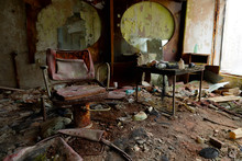 Abandoned Barber Saloon In Pri...
