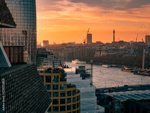 Fotografie, Obraz  The Thames London