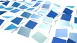 Abstract simple blue violet low poly 3D split surface as interesting environment