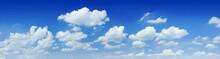 Cloudscape - Blue Sky And White Clouds
