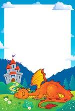 Sleeping Dragon Theme Frame 1