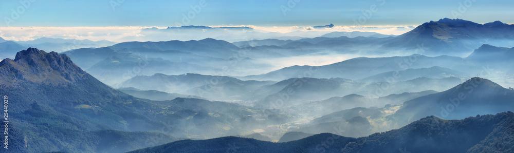 Fototapety, obrazy: Amboto, Urkiola, Basque Country. Natural Park