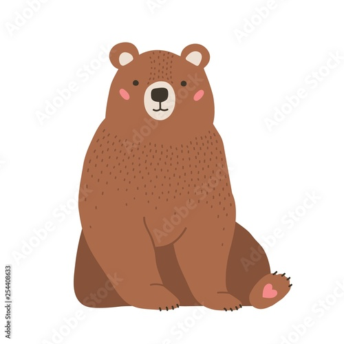 Cute adorable little brown bear Tapéta, Fotótapéta