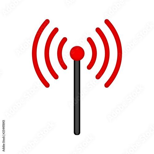 Fototapeta antena ikona obraz