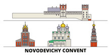 Russia, Moscow, Novodevichy Co...