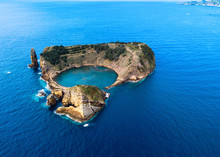 Aerial View Of Islet Of Vila F...