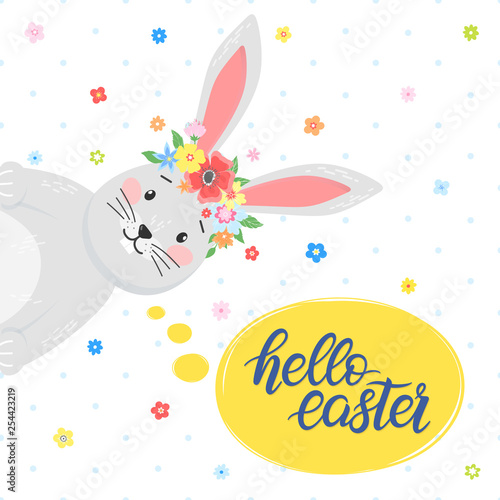 Fotografiet  Easter typography