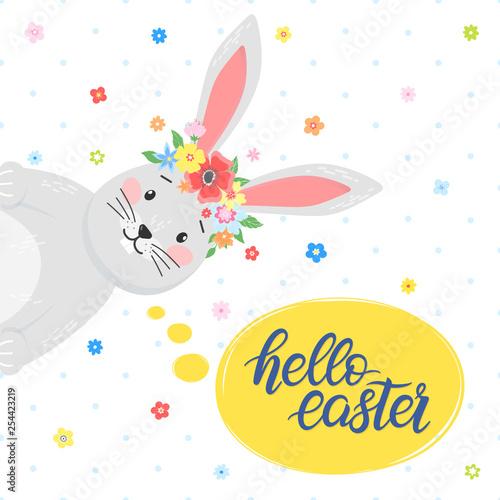 Fotografie, Obraz  Easter typography