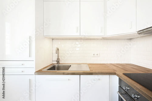 Interior de cozinha moderna Fototapeta