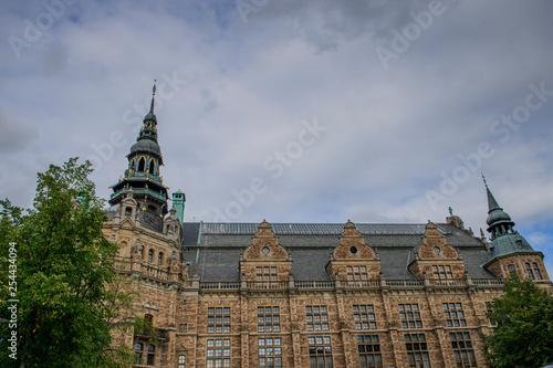 Stock exchange in the city Copenhagen Denmark. Canvas Print