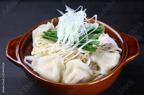 Fotografie, Obraz  Foodstuffs of Chinese dumpling hot pot