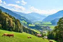 """View Over Beautiful Valley """"Zi..."""