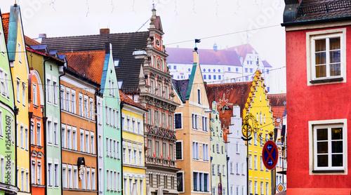 Photo  landmarks of Germany- Landshut town in Bavaria
