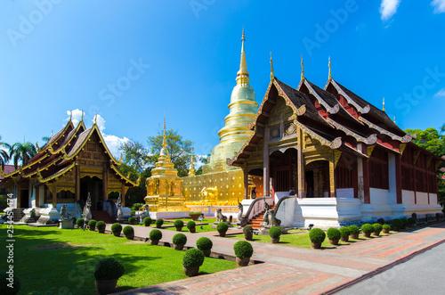 Fotografie, Obraz  Wat Phra Singh is a Buddhist temple in Chiang Mai Thailand