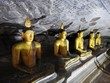 The golden temple of Dambulla is world heritage site and has a total of a total of 153 Buddha statues, three statues of Sri Lankan kings and four statues of gods and goddesses.
