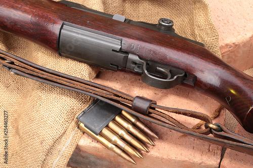 Poster Chasse Gewehr Garant M1, MAS 36