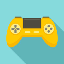 Game Controller Icon. Flat Ill...