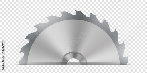 Foto Creative vector illustration of circular saw blade for wood, metal work with welding metal fire sparks isolated on transparent background