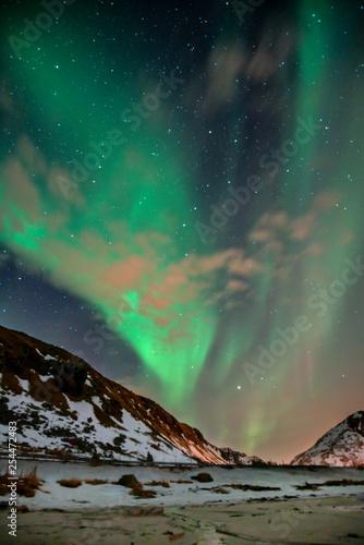 Aurora na niebie