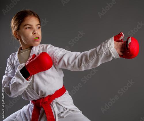 Fotografía  Karate kid strikes