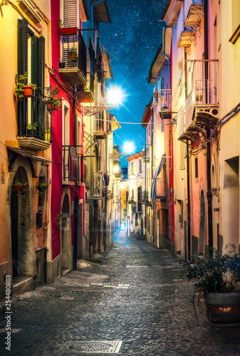 street in campobasso, italy