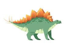Green Stegosaurus . Cute Dinos...