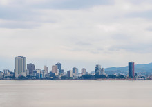 View Over Guayas River Towards...