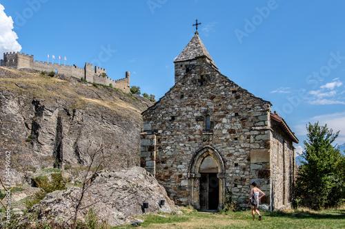 Fotografie, Obraz  Svizzera, abbazia di Sion