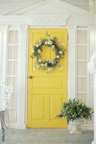 Fototapeta Beautifully decorated farmhouse look