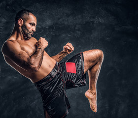 Professional Muay Thai boxe...