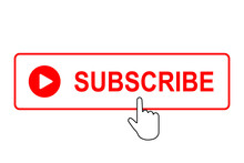 Subscribe Button With Mouse Pointer.