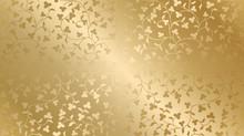 Seamless Vector Golden Texture...