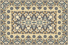 Persian Colored Carpet.