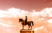 Statue Of Ataturk, The Founder Of Modern Turkey, Capital City, Ankara , Ulus Square