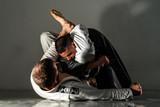 Brazilian Jiu Jitsu BJJ training sparring fight triangle submission