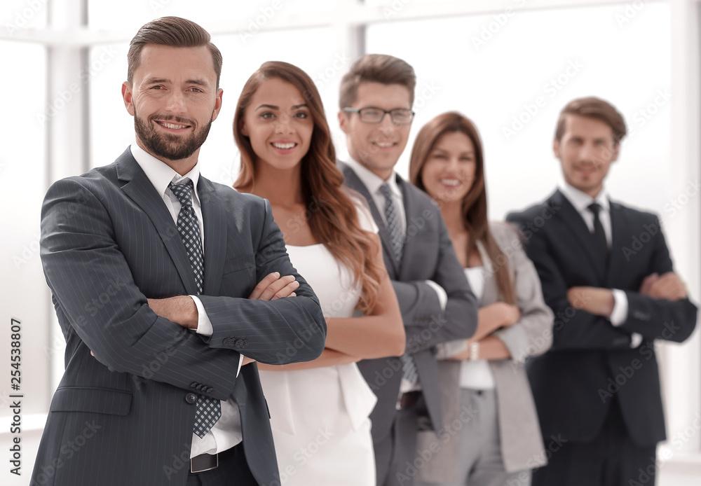Fototapeta portrait of a confident business team