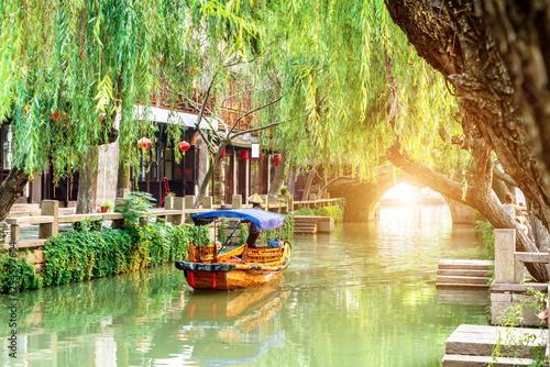 Foto auf AluDibond Shanghai Jiangsu Zhouzhuang Landscape